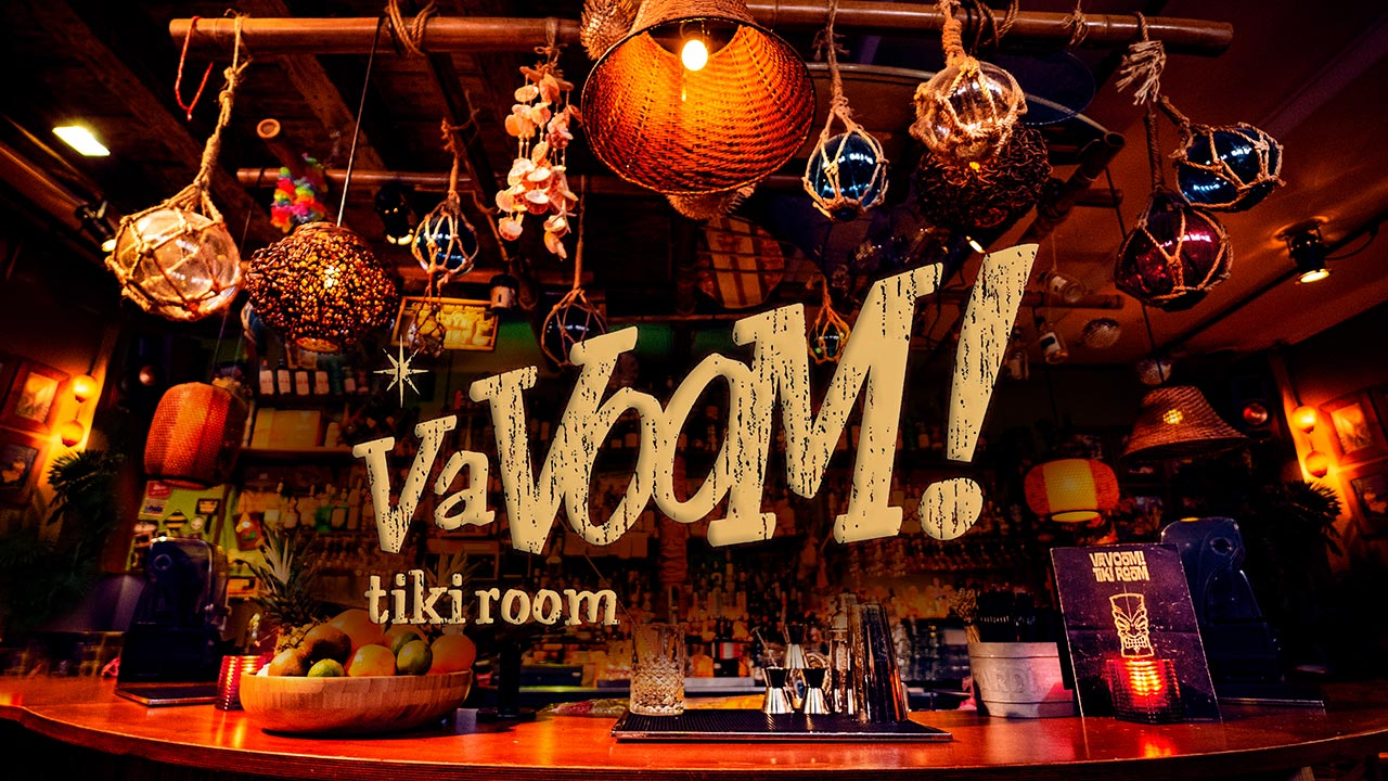 VaVoom Tiki Room cocktails Grote Markt Den Haag